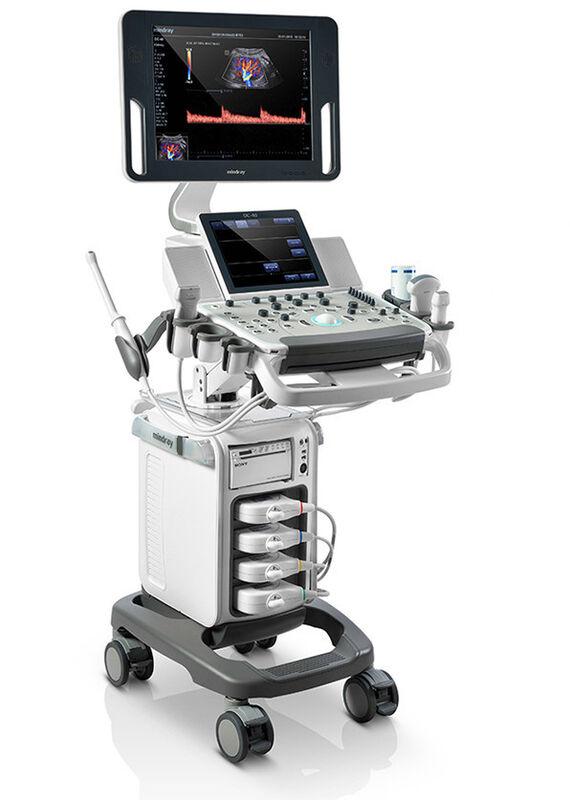 Медицинское оборудование Mindray УЗИ-система с цветным доплером DC-40 - фото 1