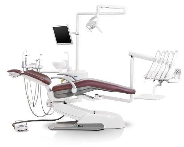 Стоматологическое оборудование Siger Стоматологическая установка U500 верхняя подача - фото 1
