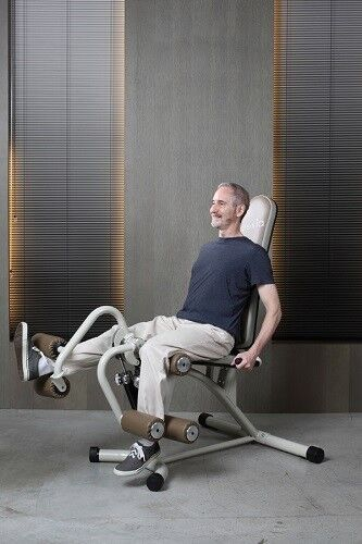 Реабилитационный тренажер Alexia Тренажер SEPARATION LEG EXTENSION / LEG CURL HC-BH-MA777-NR1 - фото 2