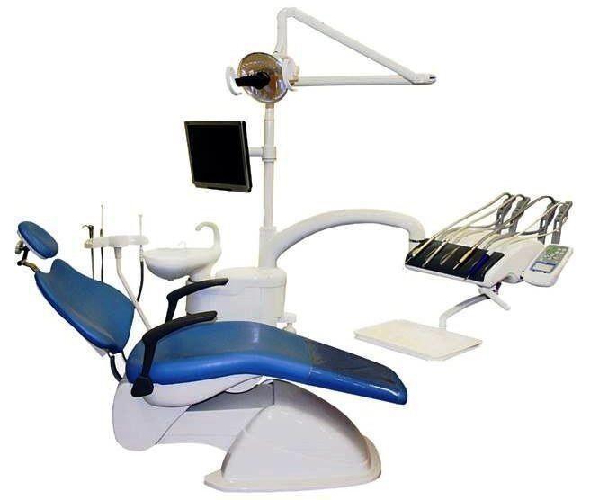 Стоматологическое оборудование Legrin Стоматологическая установка 530 верхняя подача - фото 1